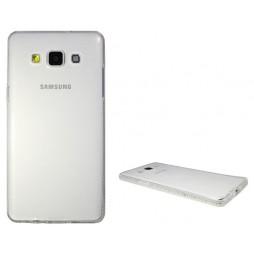 Samsung Galaxy A5 - Gumiran ovitek (TPUD) - rob bel