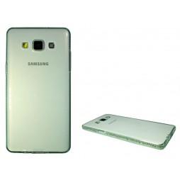 Samsung Galaxy A5 - Gumiran ovitek (TPUD) - rob zelen