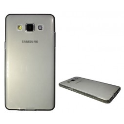 Samsung Galaxy A5 - Gumiran ovitek (TPUD) - rob siv