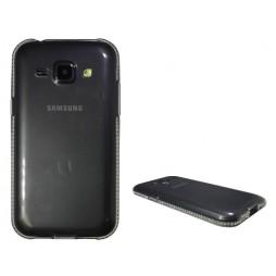 Samsung Galaxy J1 - Gumiran ovitek (TPUD) - rob siv