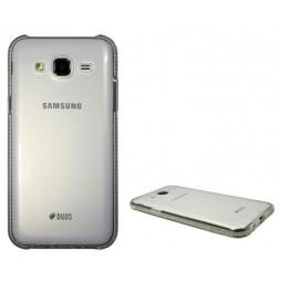 Samsung Galaxy J5 - Gumiran ovitek (TPUD) - rob bel