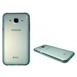 Samsung Galaxy J5 - Gumiran ovitek (TPUD) - rob zelen