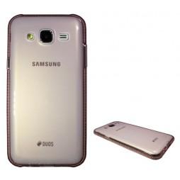 Samsung Galaxy J5 - Gumiran ovitek (TPUD) - rob roza
