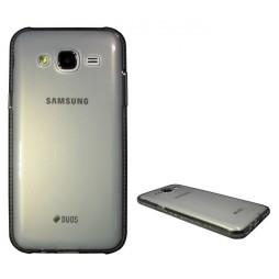 Samsung Galaxy J5 - Gumiran ovitek (TPUD) - rob siv
