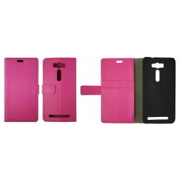 Asus Zenfone 2 Laser ZE500KL - Preklopna torbica (WL) - roza
