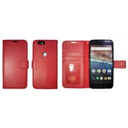Huawei Nexus 6P - Preklopna torbica (WLG) - rdeča