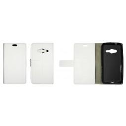 Samsung Galaxy Trend 2 Lite/Trend 2/S Duos 3 - Preklopna torbica (WLG) - bela