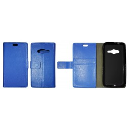 Samsung Galaxy Trend 2 Lite/Trend 2/S Duos 3 - Preklopna torbica (WLG) - modra