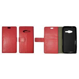 Samsung Galaxy Trend 2 Lite/Trend 2/S Duos 3 - Preklopna torbica (WLG) - rdeča
