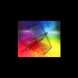 Samsung Galaxy A3 (2016) - Gumiran ovitek (TPUA) - sivo-prosojen