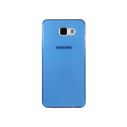 Samsung Galaxy A5 (2016) - Gumiran ovitek (TPUA) - modro-prosojen