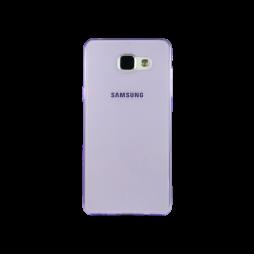 Samsung Galaxy A5 (2016) - Gumiran ovitek (TPUA) - vijolično-prosojen