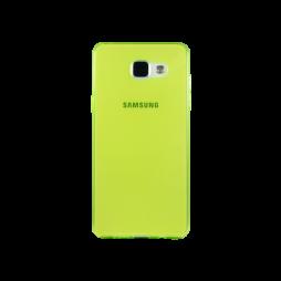 Samsung Galaxy A5 (2016) - Gumiran ovitek (TPUA) - zeleno-prosojen