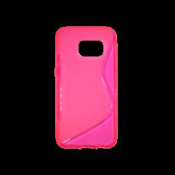 Samsung Galaxy S7 - Gumiran ovitek (TPU) - roza-prosojen SLine