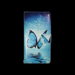 Sony Xperia M5 - Preklopna torbica (WLGP) - Blue butterfly