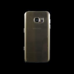 Samsung Galaxy S7 - Gumiran ovitek (TPUA) - sivo-prosojen