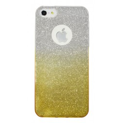 Apple iPhone 5/5S/SE - Gumiran ovitek (TPUB) - rumena