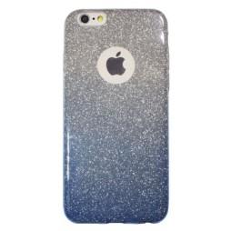 Apple iPhone 6/6S - Gumiran ovitek (TPUB) - modra