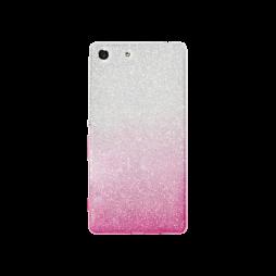 Sony Xperia M5 - Gumiran ovitek (TPUB) - roza