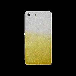 Sony Xperia M5 - Gumiran ovitek (TPUB) - rumena