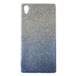Sony Xperia Z5 - Gumiran ovitek (TPUB) - modra
