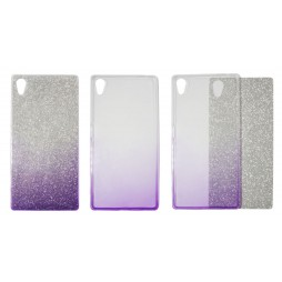 Sony Xperia Z5 - Gumiran ovitek (TPUB) - vijolična