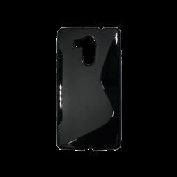 Huawei Mate 8 - Gumiran ovitek (TPU) - črn SLine