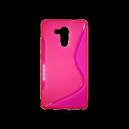Huawei Mate 8 - Gumiran ovitek (TPU) - roza-prosojen SLine
