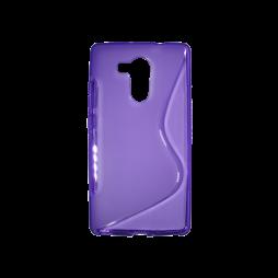 Huawei Mate 8 - Gumiran ovitek (TPU) - vijolično-prosojen SLine