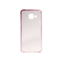 Samsung Galaxy A3 (2016) - Gumiran ovitek (TPUD) - rob roza