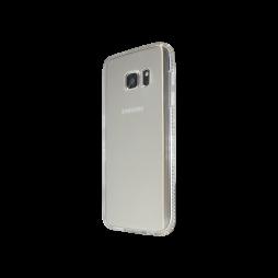 Samsung Galaxy S7 - Gumiran ovitek (TPUD) - rob bel