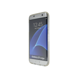 Samsung Galaxy S7 Edge - Gumiran ovitek (TPUD) - rob bel
