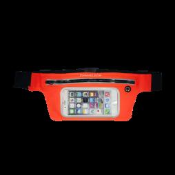Športna torbica za okoli pasu z zadrgo LARGE (PT) - oranžna