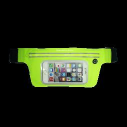Športna torbica za okoli pasu z zadrgo LARGE (PT) - zelena
