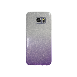 Samsung Galaxy S7 Edge - Gumiran ovitek (TPUB) - vijolična
