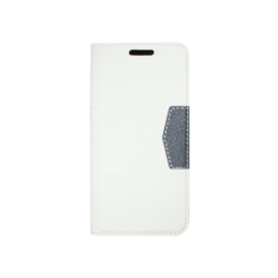 Samsung Galaxy A3 (2016) - Preklopna torbica (47G) - bela