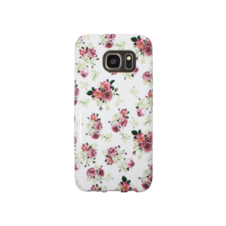 Samsung Galaxy S7 - Gumiran ovitek (TPUP) - Flowers
