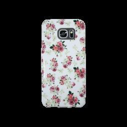Samsung Galaxy S7 Edge - Gumiran ovitek (TPUP) - Flowers