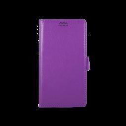 LG K10 - Preklopna torbica (WLG) - vijolična