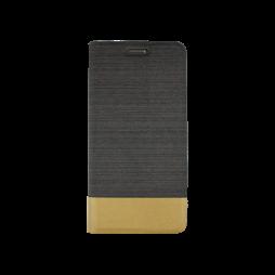 Samsung Galaxy S7 Edge - Preklopna torbica (67G) - črna