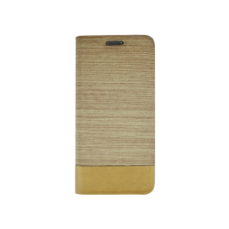 Samsung Galaxy S7 Edge - Preklopna torbica (67G) - svetlo rjava
