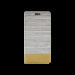 Samsung Galaxy S7 Edge - Preklopna torbica (67G) - bež