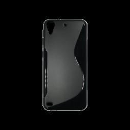 HTC Desire 530/630 - Gumiran ovitek (TPU) - črn SLine