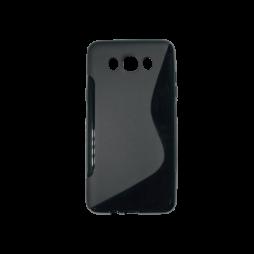 Samsung Galaxy J7 (2016) - Gumiran ovitek (TPU) - črn SLine