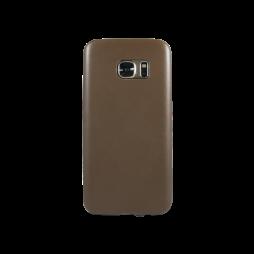 Samsung Galaxy S7 Edge - Okrasni pokrovček (43) - rjav