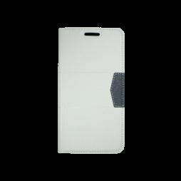 HTC Desire 825/10 Lifestyle - Preklopna torbica (47G) - bela