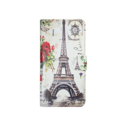 Samsung Galaxy S7 - Preklopna torbica (WLP) - Eiffel & rose