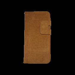Samsung Galaxy S7 Edge - Preklopna torbica (68GL) - temno rjava