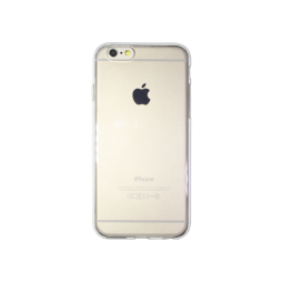 Apple iPhone 6/6S - Gumiran ovitek (TPU) - prozoren