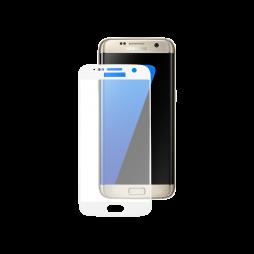 Samsung Galaxy S7 Edge - Zaščitno steklo Excellence (0,33) - belo